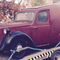 Austin Eight Van